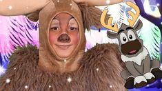 Sven from Frozen Face Paint Frozen Themed Birthday Party, Birthday Party Themes, Frozen Face Paint, Frozen Makeup, Sven Frozen, Frozen Musical, Most Popular Videos, Reindeer, Jr
