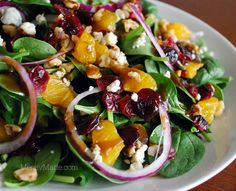 Absolutely delicious! This might be the best salad I've tried all year, thus far. All the ingredients come together in this fantastic melody of tangy, orange-y fresh, nutty, sweet, sharp chee…
