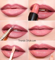 simple & pretty lip pictorial