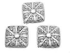 Koraliki Przekładki Akrylowe Kwadrat 30x30mm 10szt 7,70 zł - Półfabrykaty do biżuterii \ Półfabrykaty \ Przekładki \ Akrylowe - MarMon.com.pl