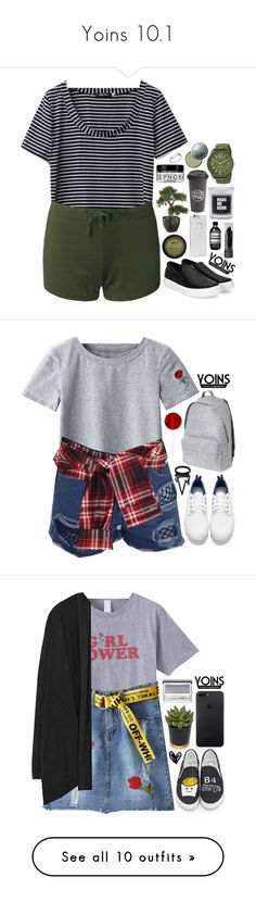 """""""Yoins 10.1"""" by emilypondng ❤ liked on Polyvore featuring yoins, yoinscollection, loveyoins, Nine West, Case-Mate, The Created Co., Sephora Collection, Aesop, CARGO and David Szeto"""