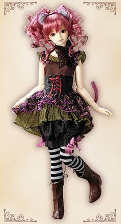 VOLKS Doll Party Ltd. Ed. Opera Pink Cat