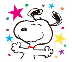SNOOPY★FUNNY FACES - 公式スタンプ