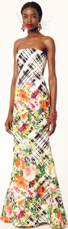 Oscar de la Renta Resort 2014 Collection ♥✤ | Keep the Glamour | BeStayBeautiful