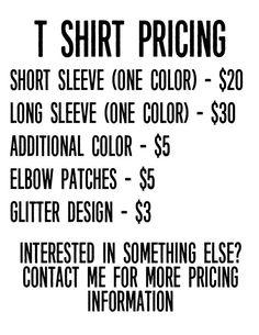 Shirt Pricing #cricutvinylprojects Shirt Pricing Cricut Air 2, Cricut Help, Cricut Vinyl, Vinyl Crafts, Vinyl Projects, Cricut Tutorials, Cricut Ideas, Silhouette Cameo Projects, Silhouette Vinyl
