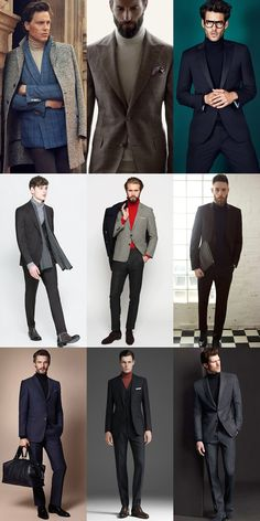 Mens Fashion Smart – The World of Mens Fashion Smart Casual Men, Business Casual Men, Gents Fashion, Mens Fashion Suits, Mens Roll Neck, Winter Fashion Casual, Mens Jumpers, Men Dress, Inspiration