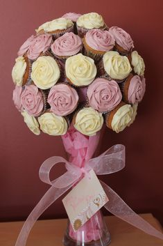 Cupcake bouquet | Flickr - Photo Sharing!