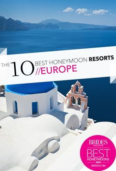 After the wedding is over, comes the best party—the honeymoon. Here's everything you need to know to plan the perfect honeymoon, from booking tips to the most awe-inspiring and romantic destinations. Best Honeymoon Resorts, Bahamas Honeymoon, Honeymoon Spots, Romantic Honeymoon, Honeymoon Destinations, Honeymoon Ideas, European Honeymoons, Unique Wedding Venues, Wedding Ideas