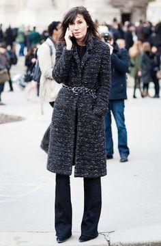 Максимум женственности: пальто с поясом 5