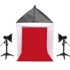 169.00$  Buy now - http://alig4s.worldwells.pw/go.php?t=32724669360 - 60x60x60cm Camera Photo Photography Studio Softbox Shooting Box Light Tent Kit 24''X 24'' X24'' Photo Studio Accessories
