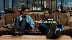 Donde, está, la biblioteca. Me llamo T-Bone La araña discoteca…
