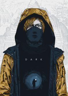 dark netflix fanart - Pesquisa Google Banshee Tv Series, Gotham Tv Series, Sci Fi Tv Series, Drama Tv Series, Tv Series To Watch, Fringe Tv Series, Arrow Tv Series, Dark Souls, Beauty