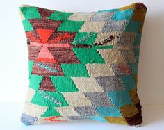 tapestry pillow. love.