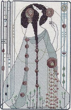 Scent Of Roses - Mackintosh Cross Stitch Kit by Barbara Thompson.