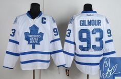 FOR SALE MAPLE LEAFS 93 GILMOUR WHITE SIGNATURE EDITION JERSEYS, Only$50.00 , Free Shipping! http://www.yjersey.com/for-sale-maple-leafs-93-gilmour-white-signature-edition-jerseys.html