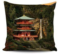 Almofada Decorativa Templo Japão