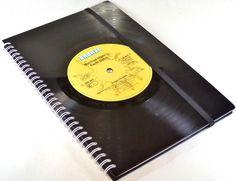 DIN A5 - KALENDER 2016 - Schallplatte Buchkalender Vinyl - ein Designerstück von Aurum bei DaWanda