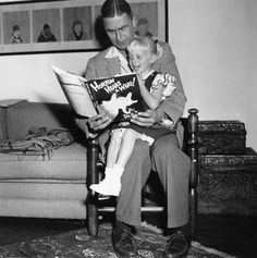 Author and illustrator Theodor Seuss Geisel, known as Dr. Seuss, reads from his book Horton Hears a Who! to Lucinda Bell at his home in La Jolla, Calif., in (AP) Calvin Harris, Lewis Carroll, Dr Seuss Stories, New Books, Books To Read, Reading Books, Children Reading, Reading Time, Horton Hears A Who