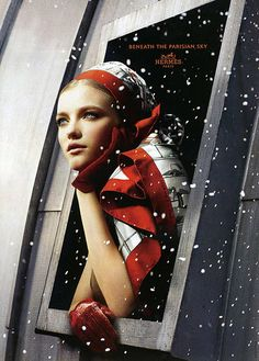Hermes: Snow beauty