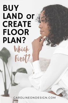 Are you dreaming about building a custom home in the near future, but you have no clue if you should buy your land OR create your floor plan first? Find out here! Home Building Tips, Building A House, How To Buy Land, How To Find Out, Create Floor Plan, Feeling Discouraged, House Design Photos, Tear Down, Can Design