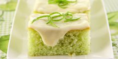 COMIDINHAS FÁCEIS: Bolo verde de limão com gelatina