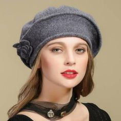 50e317bc34185c 30 Best 2018 wool beret hat for women winter hats images | Wool ...