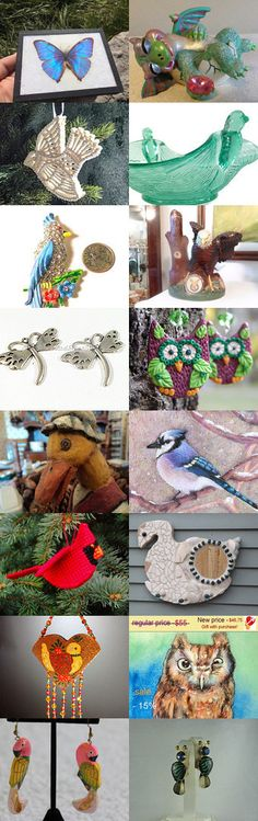 Things With Wings by Alison on Etsy--Pinned+with+TreasuryPin.com
