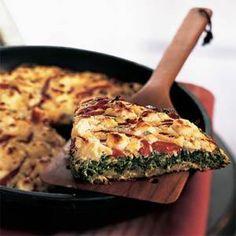 Vegan Italian frittata... perfect for Sunday brunch!