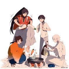 Mutsunokami Yoshiyuki, Kohaku, Touken Ranbu, Manga, Doujinshi, Funny Images, Art Pictures, Sword, Anime Art