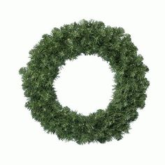 Couronne de sapin GÉANTE IMPÉRIAL VERT - Couronnes de Noël : Izaneo.com