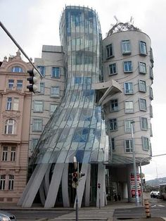 The Dancing House, Prague, Czech Republic - Frank O. Gehry