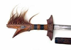 Philippine Moro Kampilan sword from Mindanao early 20th century