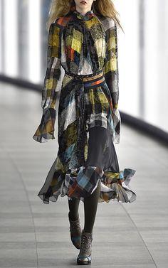 Lizette Dress by Preen by Thornton Bregazzi for Preorder on Moda Operandi