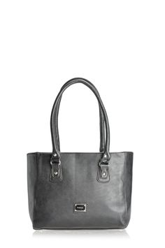 Pronta Moda Niana structured tote with twin shoulder straps
