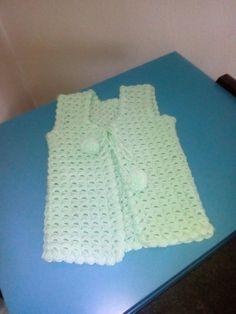 Sipariş alınır 30 tl Bebek yeleği İstenilen renkte yapılır