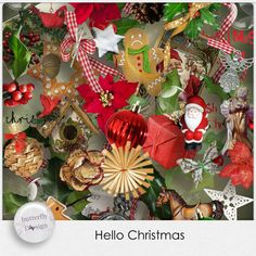 Digital Art :: Kits :: Hello Christmas by butterflyDsign