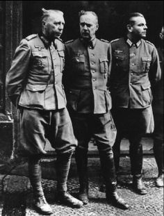 GERMANY. World War II. German officers captured as prisoners at the fall of Berlin. 1945. photo @ Yu CHERNISHEV