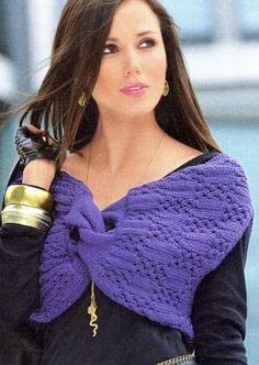 Шраг спицами / Вязание спицами / Вязание для женщин спицами. Схемы вязания спицами
