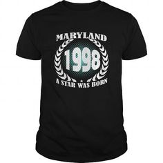 Born Maryland 1998 Year Shirts A star was born Guys tee ladies tee Hoodie youth Sweat Vneck Tshirts for Girl and Men and Family #1998 #tshirts #birthday #gift #ideas #Popular #Everything #Videos #Shop #Animals #pets #Architecture #Art #Cars #motorcycles #Celebrities #DIY #crafts #Design #Education #Entertainment #Food #drink #Gardening #Geek #Hair #beauty #Health #fitness #History #Holidays #events #Home decor #Humor #Illustrations #posters #Kids #parenting #Men #Outdoors #Photography…