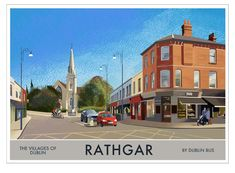 Rathgar – Villages of Dublin In Pursuit, Grand Canal, Rest Of The World, Dublin Ireland, 14th Century, Troops, Mansions, House Styles, City