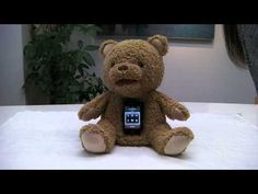 CocoloBear--Interactive dock for smartphones  Only available in Japan--I WANT one!