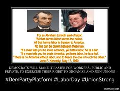 Union Strong  Labor Day