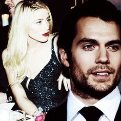 Gideon Cross & Eva Tramell (Amber Heard & Henry Cavill) Crossfire Series by Sylvia Day #crossfire