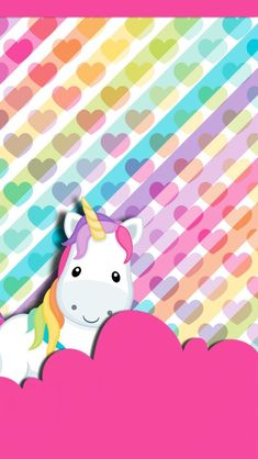 Cute Wallpaper Unicornios Wallpaper, Wallpaper Backgrounds, Cute Unicorn, Rainbow Unicorn, Unicorn Birthday, Unicorn Party, Little Pony, Cute Wallpapers, Hello Kitty