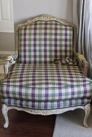 Girl v. The World: DIY: Bergere Chair Makeover