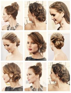 Jennifer Lawrence hair styles