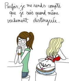 Sometimes, I realize that I am notwithstanding very ladylike! Just For Laughs, Just For You, Funny Cute, Hilarious, Lol, Humor Grafico, Girly Quotes, Girl Humor, Funny Comics