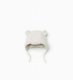 Fur hat with ear muffs-Hats, scarves and gloves-Accessories-Baby girl | 3 months - 3 years-KIDS | ZARA United States