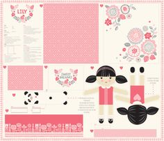 1_yard_doll_template_LILY fabric by stacyiesthsu on Spoonflower - custom fabric