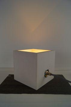Tischlampen - Beton Tischlampe | Betonlampe |  Design Betonlampe - ein Designerstück von Beton-Liebe bei DaWanda